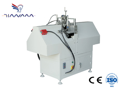 Mullion cutting saw for PVC Profile